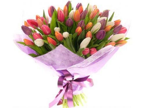 Букет з 51 тюльпана